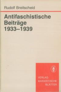 Cover-Antifaschistische